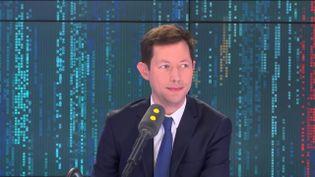 François-Xavier Bellamy, le samedi 5 avril 2019 sur franceinfo. (FRANCEINFO)