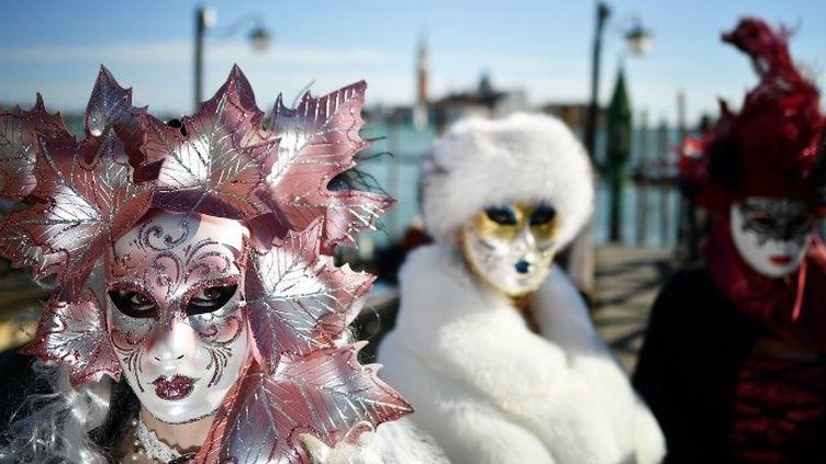 Masques du carnaval de Venise  (Alberto PIZZOLI / AFP)