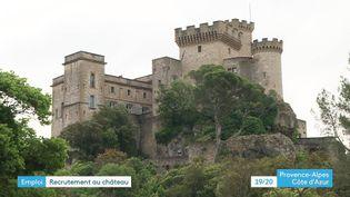 Le château de la Barben dans les Bouches-du-Rhône (France 3 PACA)