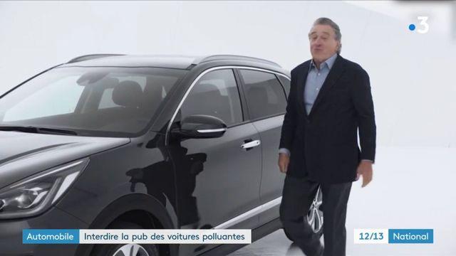 Automobile : la publicité interdite pour les véhicules polluants ?