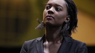 Rama Yade (UDI), le 13 novembre 2010 au Grand Palais, à Paris. (ERIC GAILLARD / REUTERS)