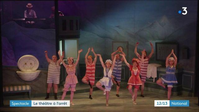 Théâtre : la pièce Frou-Frou les Bains est à l'arrêt