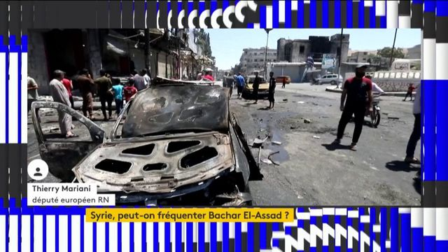 En Syrie, Thierry Mariani (RN) défend la stratégie militaire de Bachar El-Assad
