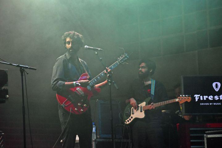 Peter Cat Recording à Rock en Seine samedi 24 août. (OLIVIER FLANDIN / FTV)
