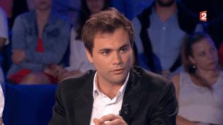 """Charles Consigny sur le plateau de l'émission """"On n'est pas couché"""", le 3 juin 2017. (FRANCE 2)"""
