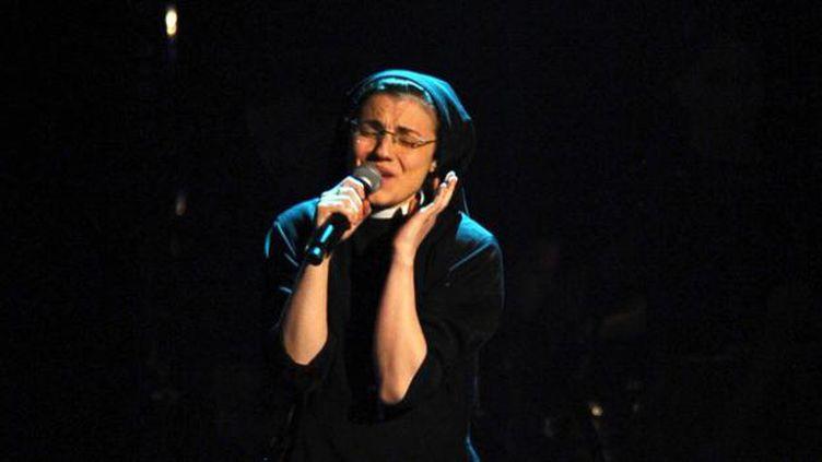(Soeur Christina a remporté The Voice ce jeudi soir © MAXPPP)