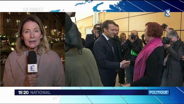 Emmanuel Macron : une volonté de changer d'image