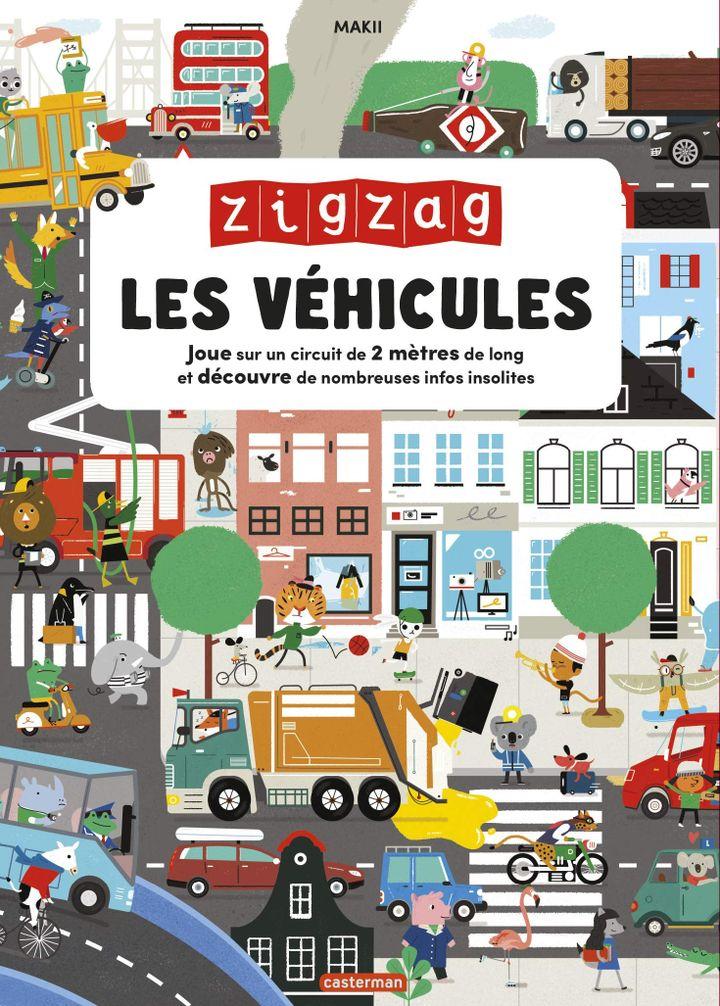 """Couverture de""""ZigZag – Les Véhicules""""de Makii, 2020 (CASTERMAN)"""