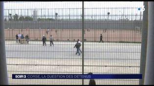 Des détenus corses sont en prison sur le continent. (FRANCE 3)