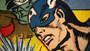 Jack Kirby est notamment le créateur du super-héros Captain America  (France 3 culturebox)