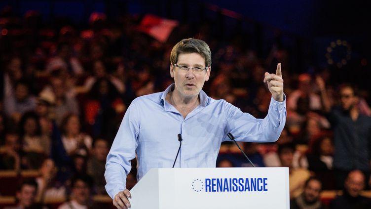 Pascal Canfin lors de la campagne pour les élections européennes en mars 2019. (AURELIEN MORISSARD / MAXPPP)
