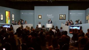Vente aux enchères : 11 œuvres de Picasso vendues pour plus de 100 millions de dollars (FRANCEINFO)