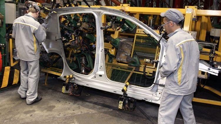 A l'usine Renault de Flins (AFP - JACK GUEZ)