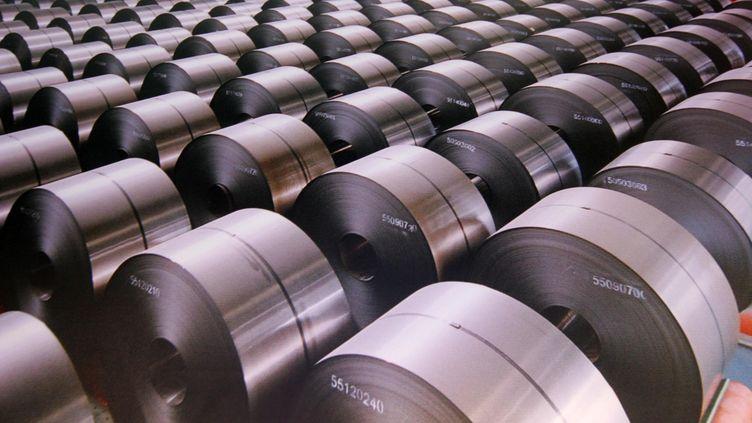L'acier chinois  (TPG / MAXPPP)