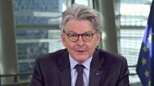 """Europe : """"La crise nous a fait comprendre que notre destin est entre nos mains"""", estime Thierry Breton (FRANCE 2)"""