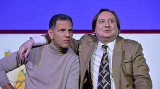 """Roschdy Zem et Michel Fau dans """"Trahisons"""" (Stéphane Brion)"""