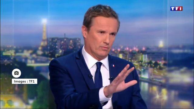Nicolas Dupont-Aignan quitte la plateau de TF1