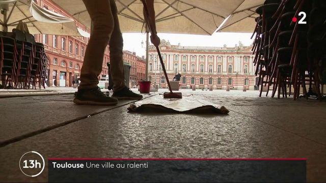 Coronavirus : Toulouse, une ville au ralenti