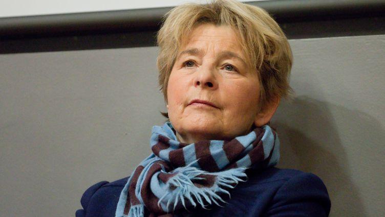 Marie-Guite Dufay, présidente de la région Bourgogne Franche-Comté en janvier 2019. (JC TARDIVON / MAXPPP)