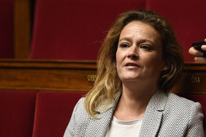 La députée LREM Olivia Grégoire entre au gouvernement pour s'occuper dede l'Economie sociale, solidaire et responsable. (ERIC FEFERBERG / AFP)