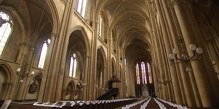 La Basilique Saint-Vincent à Metz  (France 3 / Culturebox / capture d'écran)