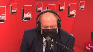 Le garde des Sceaux Éric Dupond-Moretti était l'invité de France Inter mardi 11 mai. (FRANCE INTER / RADIO FRANCE)
