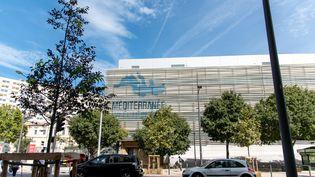 La façade de l'IHU de Marseille, le 1er septembre 2020. (MAXPPP)