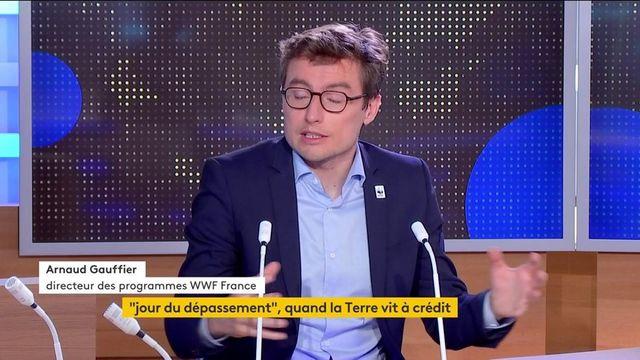 Jour du dépassement : «les tendances sont extrêmement mauvaises», alerte Arnaud Gauffier, directeur des programmes de WWF France