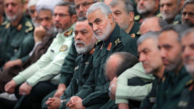 Le général Qassem Soleimani, le 2 octobre 2019 à Téhéran (Iran). (AP / SIPA)