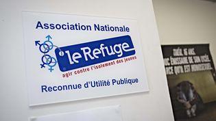 L'entrée d'un local de l'association Le Refuge, le 11 mars 2013 à Paris. (MAXPPP)