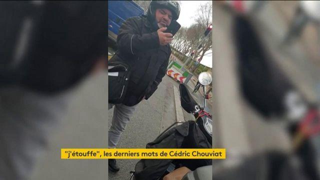 """Affaire Chouviat : le livreur a dit sept fois aux policiers """"j'étouffe"""""""
