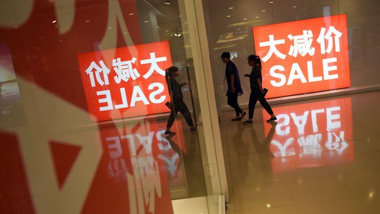 Le 11 novembre en Chine, les ventes en ligne explosent (GREG BAKER / AFP)