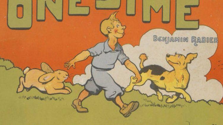 Onésime, héros de Benjamin Rabier aux allures de Tintin (image BnF)