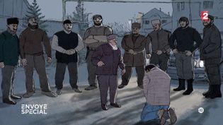 """""""Je suis la honte de la famille. La seule façon de la laver, c'est de me tuer"""", explique un homosexuel qui a fui la Tchétchénie (FRANCE 2 / FRANCETV INFO)"""