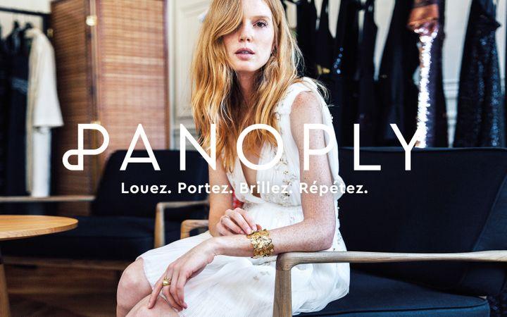 Slogan du service de location Panoply (PANOPLY)