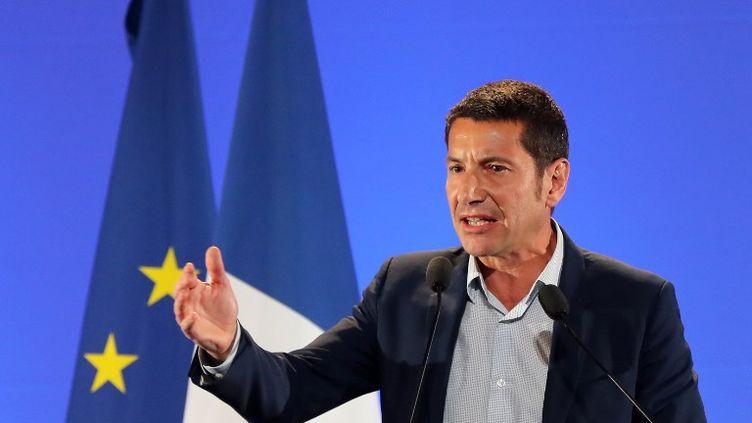 Le maire de Cannes, David Lisnard, le 17 avril 2017. (VALERY HACHE / AFP)