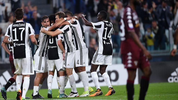 La Juventus s'offre le derby face au Torino (FILIPPO MONTEFORTE / AFP)