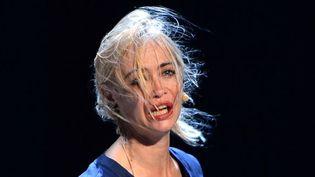 Emmanuelle Béart au Festival d'Avignon 2013  (Anne-Christine Poujoulet/AFP)