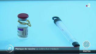 Des doses de vaccins. (France 2)