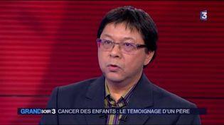 Jerry Sayan a perdu sa fille, morte d'un cancer il y a cinq ans. (FRANCE 3)