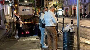 Un homme souffrant de retard mental est mort asphyxié lors d'un contrôle de billet à la station de métro Joliette, à Marseille (Bouches-du-Rhône), le 22 septembre 2021. (Jean-François Giorgetti / FRANCE TELEVISIONS)