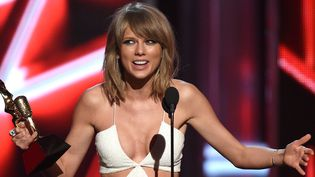 Taylor Swift aux Billboard Music Awards, mai 2015  (ETHAN MILLER / GETTY IMAGES NORTH AMERICA / AFP)