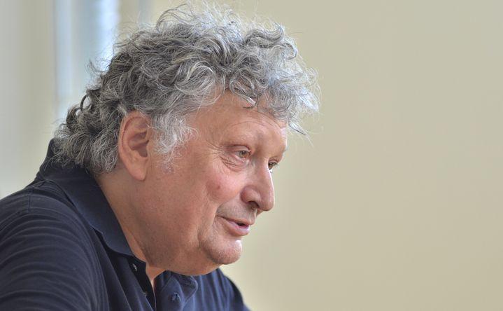 René Jacobs à Ambronay le 15 septembre pendant l'interview.  (Bertrand Pichène - Festival d'Ambronay)