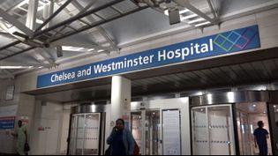 L'hôpital Chelsea and Westminster, à Londres. (FRANCEINFO)