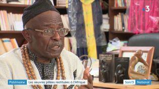 Le prince camerounais Kum'a Ndumbe III (France 3)