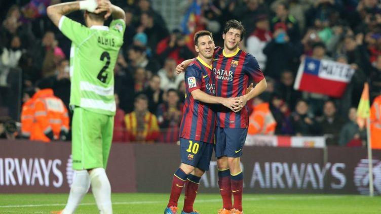 Lionel Messi n'a pas marqué... mais a fait marquer le Barça. (MANUEL BLONDEAU / AOP PRESS)