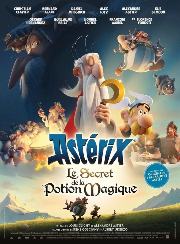"""""""Astérix - Le Secret de la potion magique"""" : l'affiche  (SND)"""