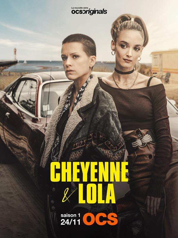 """L'affiche de la série """"Cheyenne et Lola"""". (OCS)"""