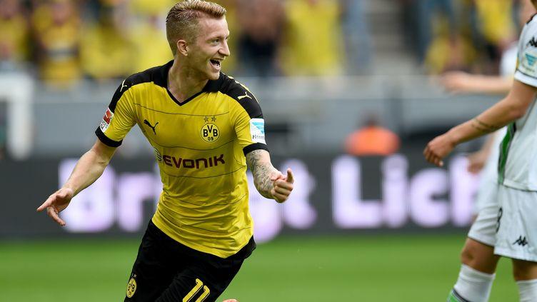 Marco Reus, auteur du dernier but du Borussia Dortmund (PATRIK STOLLARZ / AFP)