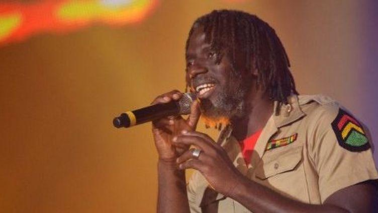 Le chanteur ivoirien Tiken Jah Fakolya composé une chanson pour la paix au Mali. (AFP /Miguel Medina)